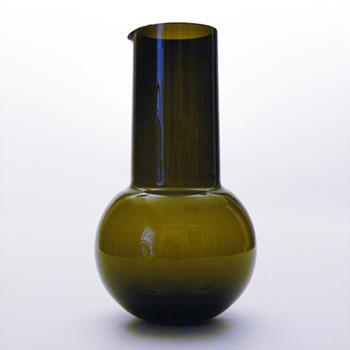 Jug, Kaj Franck (Nuutajärvi Notsjö, 1950s) - Art Glass