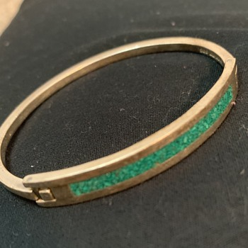 Mexican sterling bangle - Fine Jewelry