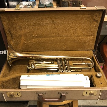Vintage Yamaha Trumpet and Carl Fischer Saxophone - Musical Instruments