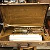Vintage Yamaha Trumpet and Carl Fischer Saxophone