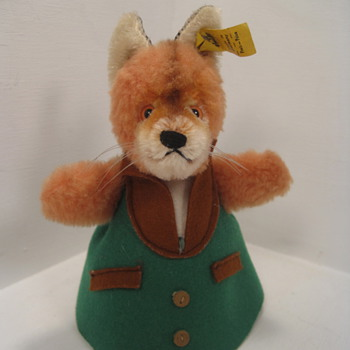 "Steiff's Adorable and Unusual ""Nightcap Fox""  - Dolls"
