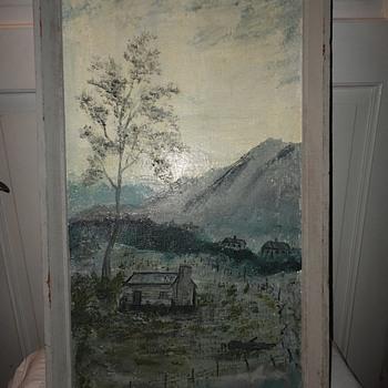 Scenic Oil on Canvas - Fine Art