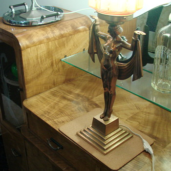 Newly acquired Egyptian Lady Lamp