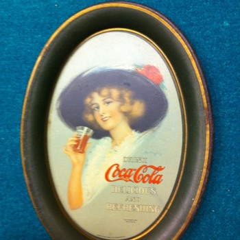 1912 Coca Cola tip tray - Coca-Cola