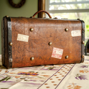 Antique Suitcase 1860's - Bags