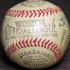 1945 Portland Beavers Autographed Baseball