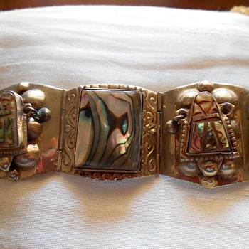 "7"" Mexico  bracelet - Silver"