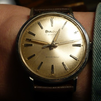 1960s Bulova Aerojet  - Wristwatches