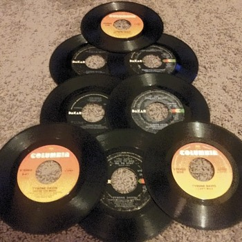 45 RPM SINGLE(S)....#167-#174 - Records