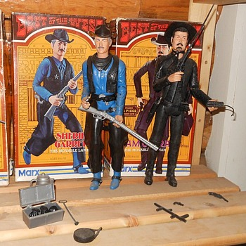 Marx Sheriff Garrett Sam Cobra Best of the West Series Boxes  - Toys