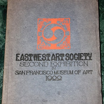 Eastwest Art Society - Second Exhibition in San Francisco Museum of Art - 1922