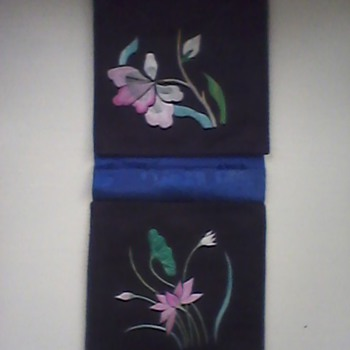 Lotus Embroidered ?pouch