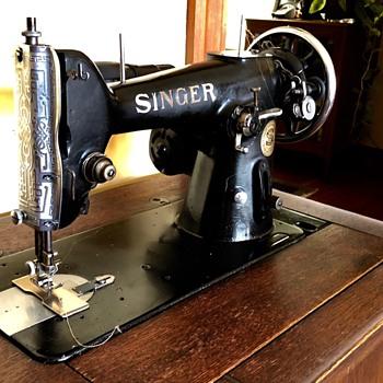 Singer Klaffe 206 - Sewing