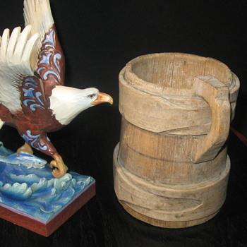 1700's Wooden Tavern Mug