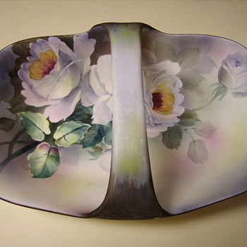 Hand Painted Nappon Dish - China and Dinnerware