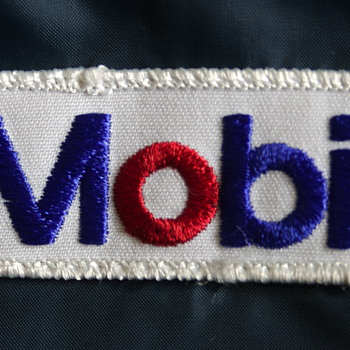 Vintage Mobil Oil Service Station Attedant's Jacket - Petroliana