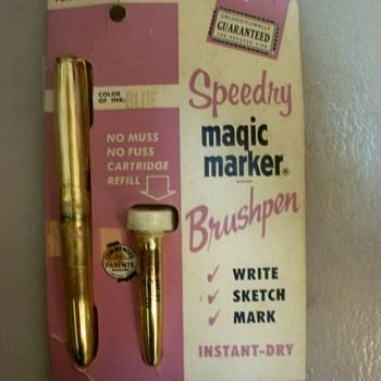 1959  Speedry Magic Marker Brushpen   - Pens
