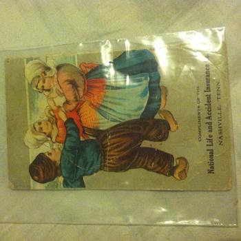 Insurance flyer from Nashville tn