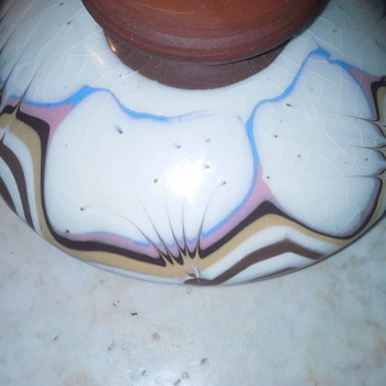 vintage oil lamp - Mid-Century Modern