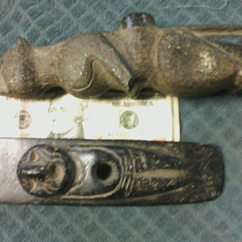My favorite 2 Native American Pipes