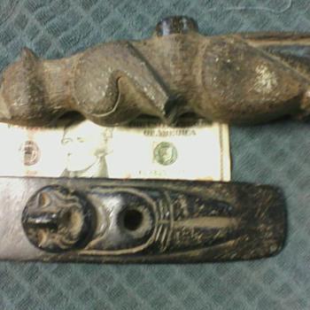 My favorite 2 Native American Pipes - Native American
