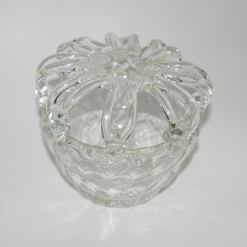 Bridal Bank - Possibly by Kralik - Art Glass