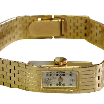 Gold wristwatch - Wristwatches