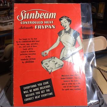 My little 1951 SunBeam  - Advertising