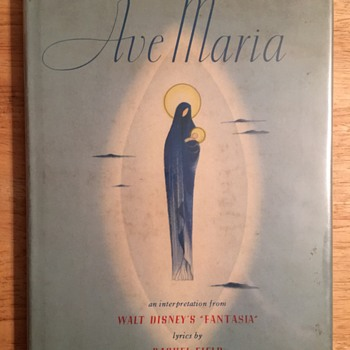 """Ave Maria"" Book  and Fantasia Program - 1940"
