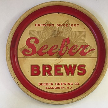 Seeber Beer Tray