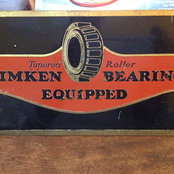Timken Bearing - Signs