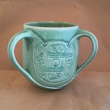 Rookwood triple handle vase
