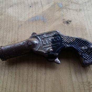 Linco Toy Cork Gun (Metal) - Toys