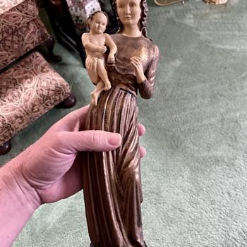 Need Help with Goebel Madonna with Child  - Figurines