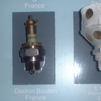 De Dion Bouton spark plugs - Tools and Hardware