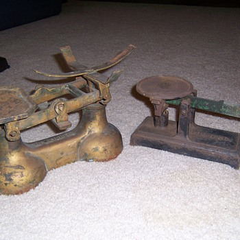 just found 2 old scales