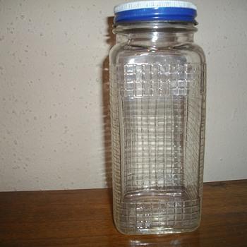 square jar - Bottles
