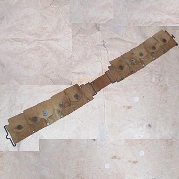 WWI Mills Cartridge Belt For Enfield - Military and Wartime