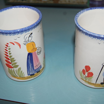 HB Henriot art pottery from our collection  - Pottery