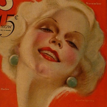 Jean Harlow Movie Magazines 1930s