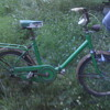 antique folding bicycle