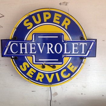 Chevrolet Service - Petroliana