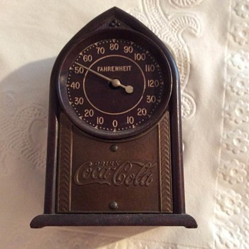 Coca Cola Thermoclock Mystery Find - Coca-Cola