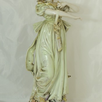 Another Victorian Lady - Signed MILLIE - Figurines