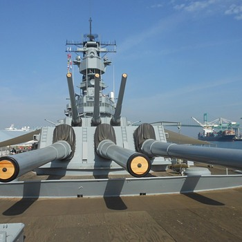 USS Iowa BB61 Featuring the Battle Bridge - Military and Wartime