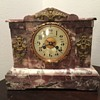 JE Caldwell Mantel Marble clock