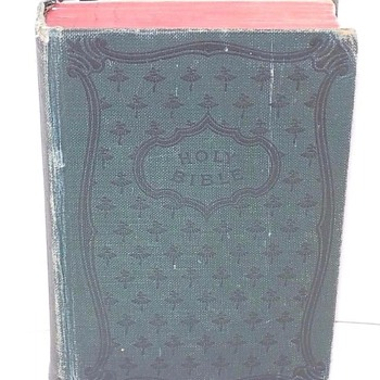 1915 Bible - Old & New Testaments, American Bible Society - Books