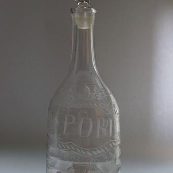 Lynn Decanter - Art Glass