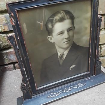 antique fancy-framed portraits of people I don't know (#1) - Fine Art