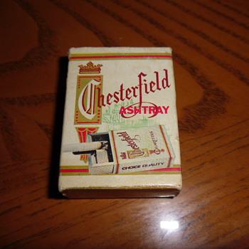 ~~Chesterfield Cigarette Pocket ashtray~~ - Advertising
